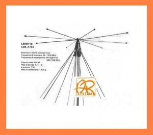 Antena LEMM AT-93 V8