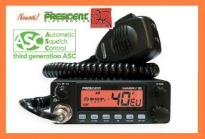CB RADIO PRESIDENT HARRY III ASC